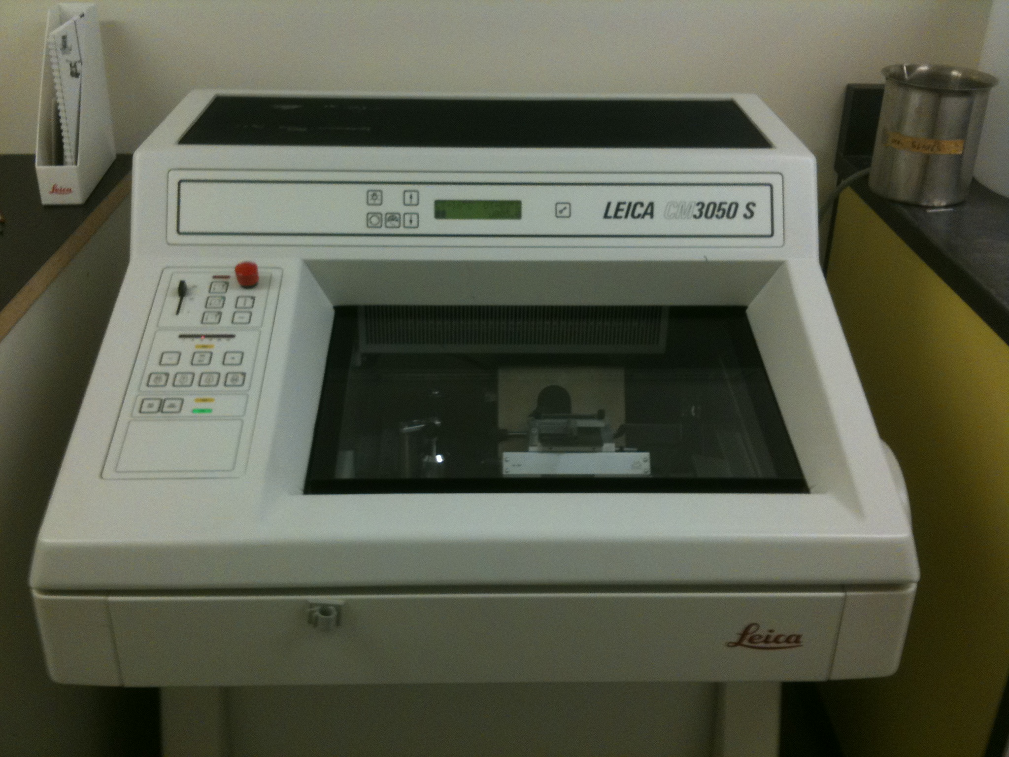 untitled document  cryostat  leica 3050