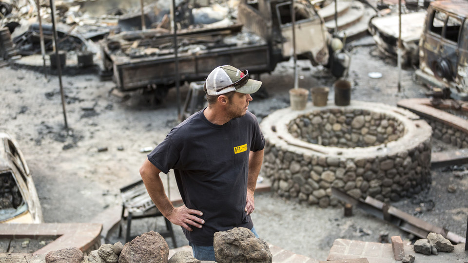 Nebraska expertise tempers wildfire recovery in California