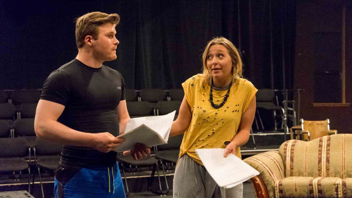 Bornstein's play brought to stage by theater students