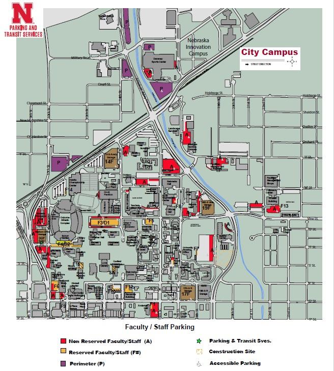 Directions and Parking   Psychological Consultation Center   Nebraska